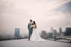 At&t Center Los Angeles Wedding Photos
