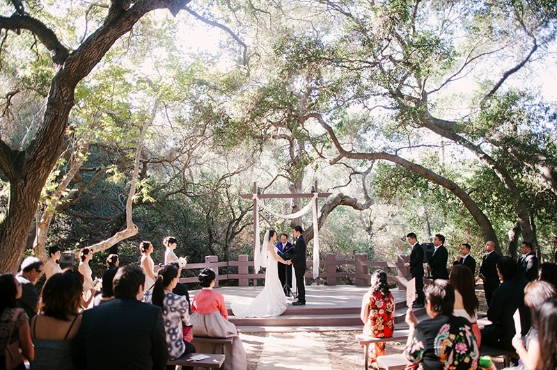 Oak Canyon Nature Center Wedding In Anaheim