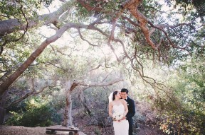 Anaheim Oak Canyon Nature Center Wedding Photos